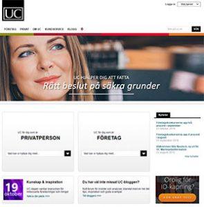UC (Upplysningscentralen) används normalt inte vid ansökan om SMS Lån.